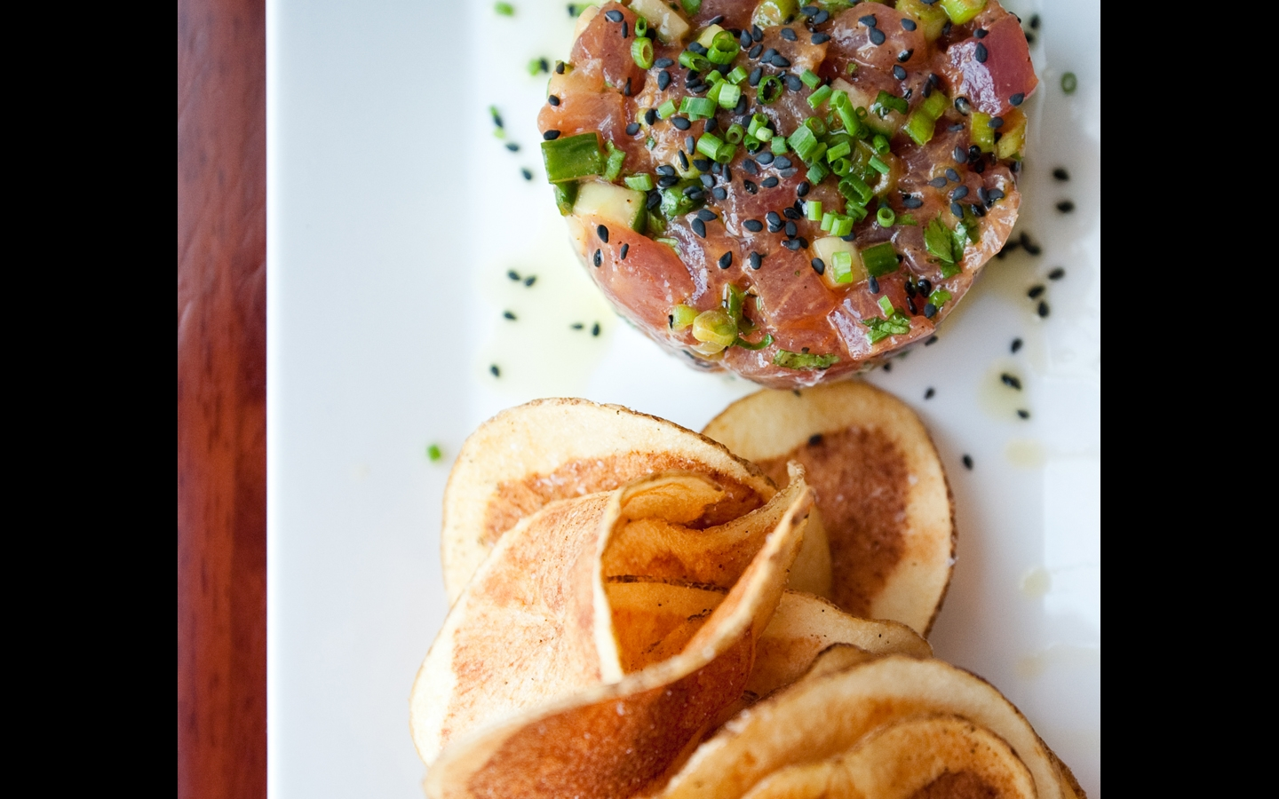 Food: Tuna tartar